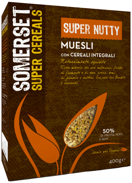 Muesli cereali integrali