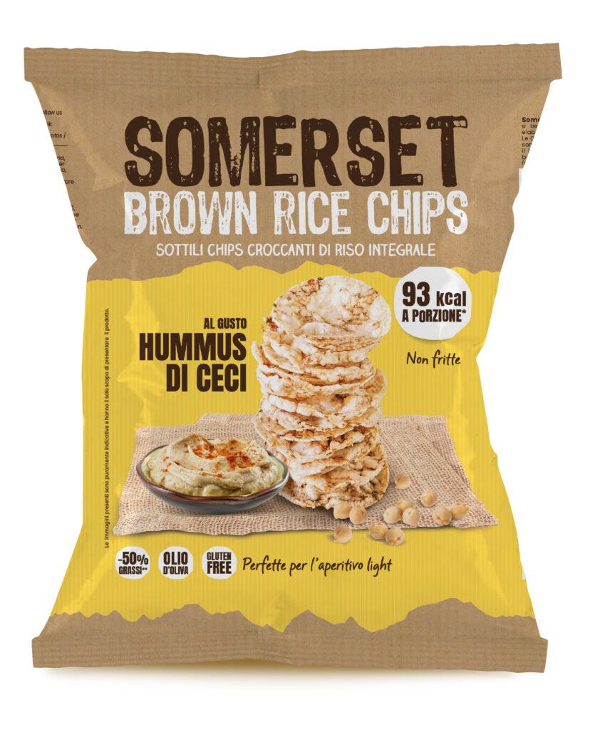 Chips di riso