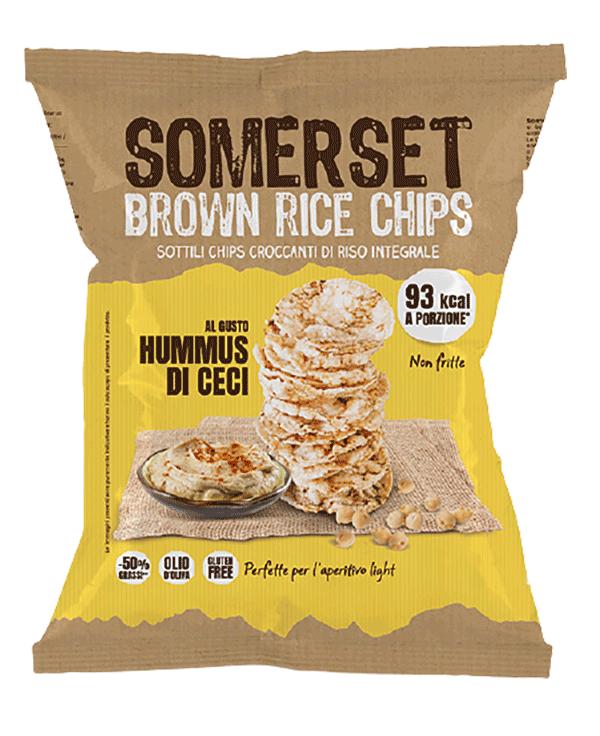 confezione rice chips hummus di ceci